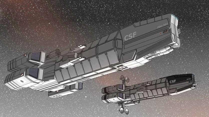 Tenarph Class Escort Carriers